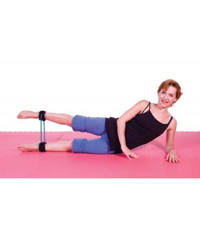 Ankle tube Color green - Medium